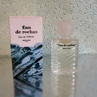"""Miniature  """"EAU De ROCHAS """" De ROCHAS Eau De Toilette 10 Ml Dans Sa Boite  (M076-2) - Miniatures Modernes (à Partir De 1961)"""