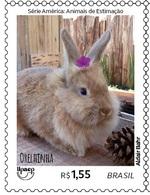 BRAZIL Stamp Brazilian Animal Rabbit 2018 - Ongebruikt