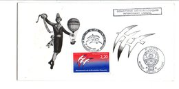 OBLITERATION SUR ENCART BICENTENAIRE REVOLUTION 1989  BALLON - Commemorative Postmarks