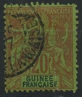 Guinée (1892) N 7 (o) - Guinée Française (1892-1944)