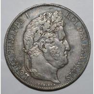 GADOURY 678a - 5 FRANCS 1847 A Paris TYPE LOUIS PHILIPPE 1er - TTB - KM 749.1 - - France