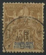 Guadeloupe (1892) N 35 (o) - Oblitérés