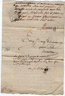 VP13.299 - Cachet Généralité De LIMOGES -  ANGOULEME - Acte De 1791 - Famille RIFFAUX à RUELLE SUR TOUVRE - Seals Of Generality