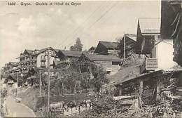 Suisse - Ref D554- Gryon - Chalets Et Hotel De Gryon   - Carte Bon Etat  - - Suisse