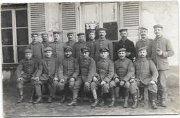 Cpa Photo Groupe Soldats Russes - Militaria