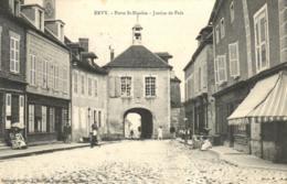 Aude - Ervy - Porte St Nicolas - Justice De Paix - C 1403 - Ervy-le-Chatel