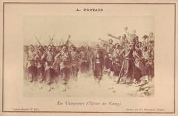 Photographie Sur Carton Fort - Les Vainqueurs (Retour Au Camp) - Peinture De 1865  De A. Protais - Militaria - Fotos
