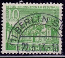 Germany, 1949, Kleist Park, 10pf, Sc#9N47, Used - Used Stamps