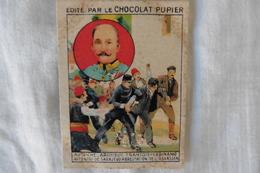 Chromo Chocolat Pupier - Europe - Autriche, Archiduc François-Ferdinand, Attentat De Sarajevo, Arrestation De L'assassin - Chocolate