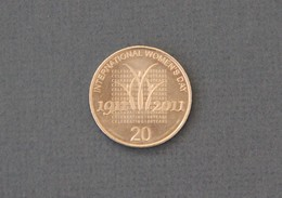 Australia 2011 20c Coin International Women's Day Anniversary QEII - Decimal Coinage (1966-...)