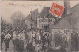 Sarthe :  SAINTE  JAMME : Musique , Inauguration  Maison Ouvrieres 1913 , Défilé - Francia