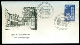 France 1982 Enveloppe Salon Philatelique Lodève - France