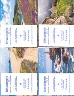 LOT DE 7 CALENDRIERS DE POCHE / THEME LA BRETAGNE / ANNEE 2017 - Calendars
