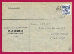 Dix Enveloppes Visées Par L'Armée Allemande - Voyagées De Fribourg En Suisse à Destination De Clermont- Ferrand - Guerra Del 1939-45
