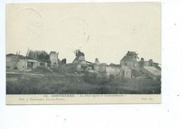 Oostkerke Place Après Le Bombardement - Damme