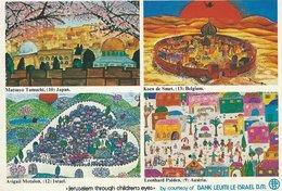 """Israel  Paintings       """" Jerusalem Through Childrens Eyes"""" S-4503 - Israel"""