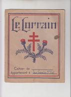 """PROTEGE CHIER """" LE LORRAIN """" - Protège-cahiers"""