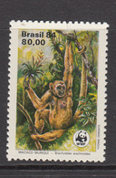 1984 Brazil WWF Woolly Spider Monkey - Ongebruikt