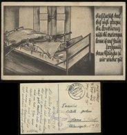 Propaganda - Feldpost Heer Humor Postkarte: Soldatenbraut, Gebraucht Lingen Ems - Hamm 1942 , Bedarfserhaltung. - Briefe U. Dokumente