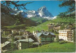 V2720 Breuil Cervinia (Aosta) - Panorama / Viaggiata 1997 - Altre Città