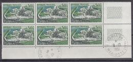 France Année 1961 N° 1314** En Bloc De 6 Timbres Cachet 1er Jour Avec Variante Voir Péniches Lot 688 - Variétés Et Curiosités