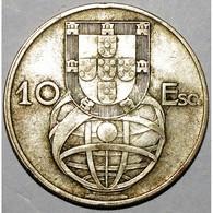PORTUGAL - 10 ESCUDOS 1954 - TRES TRES BEAU - KM 586 - - Portugal