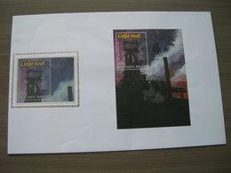"""BELG.2004 3277 = BL111  - FDC Soie/zijde Op Mooie  Grote Omslag - """"Lîdje Todi ! - Luik Altijd""""    (album 111) - 2001-10"""