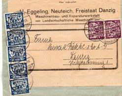 DANTZIG 24/9/1923 - Danzig