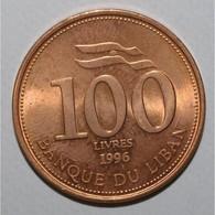 LIBAN - KM 38 - 100 LIVRES 1996 - FDC - - Lebanon