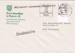 30389. Carta Drucksache MUNCHEN (Alemania Federal) 1989. Biere, Cerveza - [7] República Federal