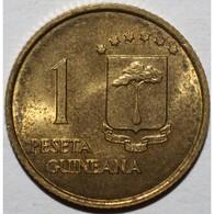 GUINEE EQUATORIALE - 1 PESETA 1969 - DEFENSES D'ELEPHANT - SUPERBE A FLEUR DE COIN - KM 1 - - Guinea