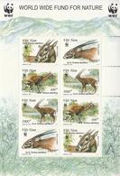 2000 Vietnam WWF Saola Asian Unicorn Miniature Sheet Of 2 Blocks Of 4 MNH - Ongebruikt