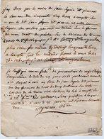 VP13.300 - VARS 1762 - Quittance - Mr Le Fondé De Procuration De Mgr L'Evêque D'ANGOULEME - Droit De Pêche SEGUIN - Manuscripts