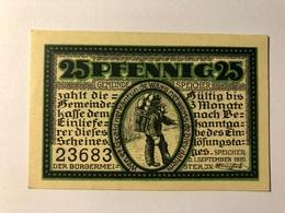 Allemagne Notgeld Speicher 25 Pfennig - [ 3] 1918-1933 : Weimar Republic