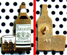 Arthus Bertrand : Whisky TEACHER'S Bouteille Et Verre - Arthus Bertrand
