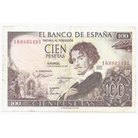 ESPAGNE - PICK 150 - 100 PESETAS - 19/11/1965 - TTB - [ 3] 1936-1975 : Regency Of Franco