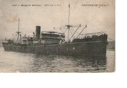 Messageries Maritimes Paquebot  ANNAM - Paquebots