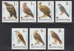1983 Hungary WWF Protected Birds Of Prey Set Of 7 MNH - Ongebruikt