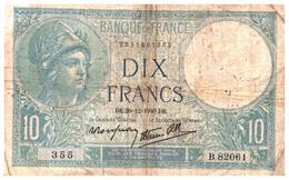 Billets > France > 10 Francs 1940 - 1871-1952 Anciens Francs Circulés Au XXème