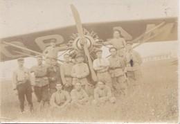 Photo Ancienne  Avion A Identifier Aviateur Aviation - Aviation