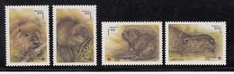 1995 Belarus WWF Beavers Set Of 4 MNH - Ongebruikt