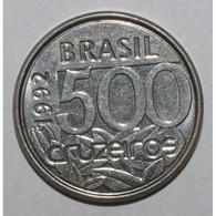 BRÉSIL - KM 624 - 500 CRUZEIROS 1993 - Tortue De Mer - SUPERBE - - Brazil