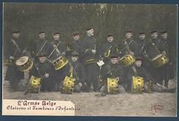 Armée Belge - Clairons Et Tambours D'Infanterie - Régiments