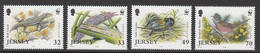 2004 Jersey WWF Lizard, Ant, Cricket And Warbler Bird Set Of 4 MNH - Ongebruikt