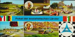 Pokal Der Sozialistischen Länder Schleizer Dreieck Rennen 1980; 2 Scans, Ca. 21 X 10,5 Cm - Motorsport