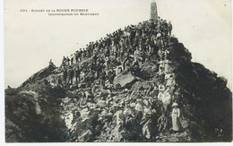 11109  - Savoie - LA  ROCHE POURRIE , INAUGURATION DU MONUMENT Env.Albertville  RARE -  Edit: Pittier 694  D'avant 1904 - Francia