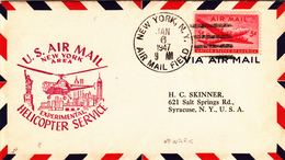 06 Gennaio 1947 U.S. Air Mail New York Area Experimental Helicopter Service - Elicotteri