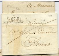 C13-P67P/ STRASBOURG  De 1821et STRASBOURG 1778 - 1701-1800: Precursors XVIII