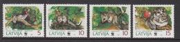 1994 Latvia WWF Dormouse Set Of 4 MNH - Ongebruikt