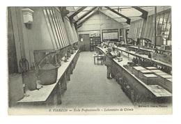 CHER 18 VIERZON Ecole Professionnelle Laboratoire De Chimie - Vierzon